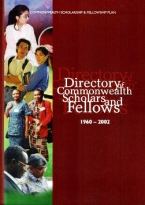 Directory of Commonwealth Scholars and Fellows 1960-2002
