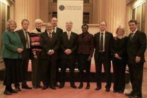 Commonwealth Scholarship Commissioners at the 2010 Welcome Programme