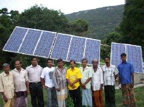 Pilot solar village
