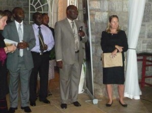 Reception at High Commission for new scholars