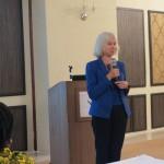 HE Dianna Melrose speaking at the Tanzanian alumni meeting