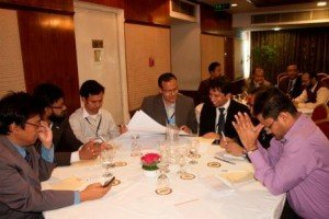 Bangladesh alumni event group discussion