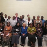 Tanzanian alumni group photo with BHC HE Dianna Melrose