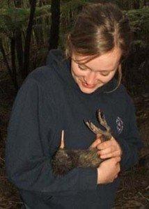 Julia Latham, 2004 New Zealand Commonwealth Scholar from the UK