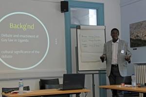 Cyprian Misinde - presentation