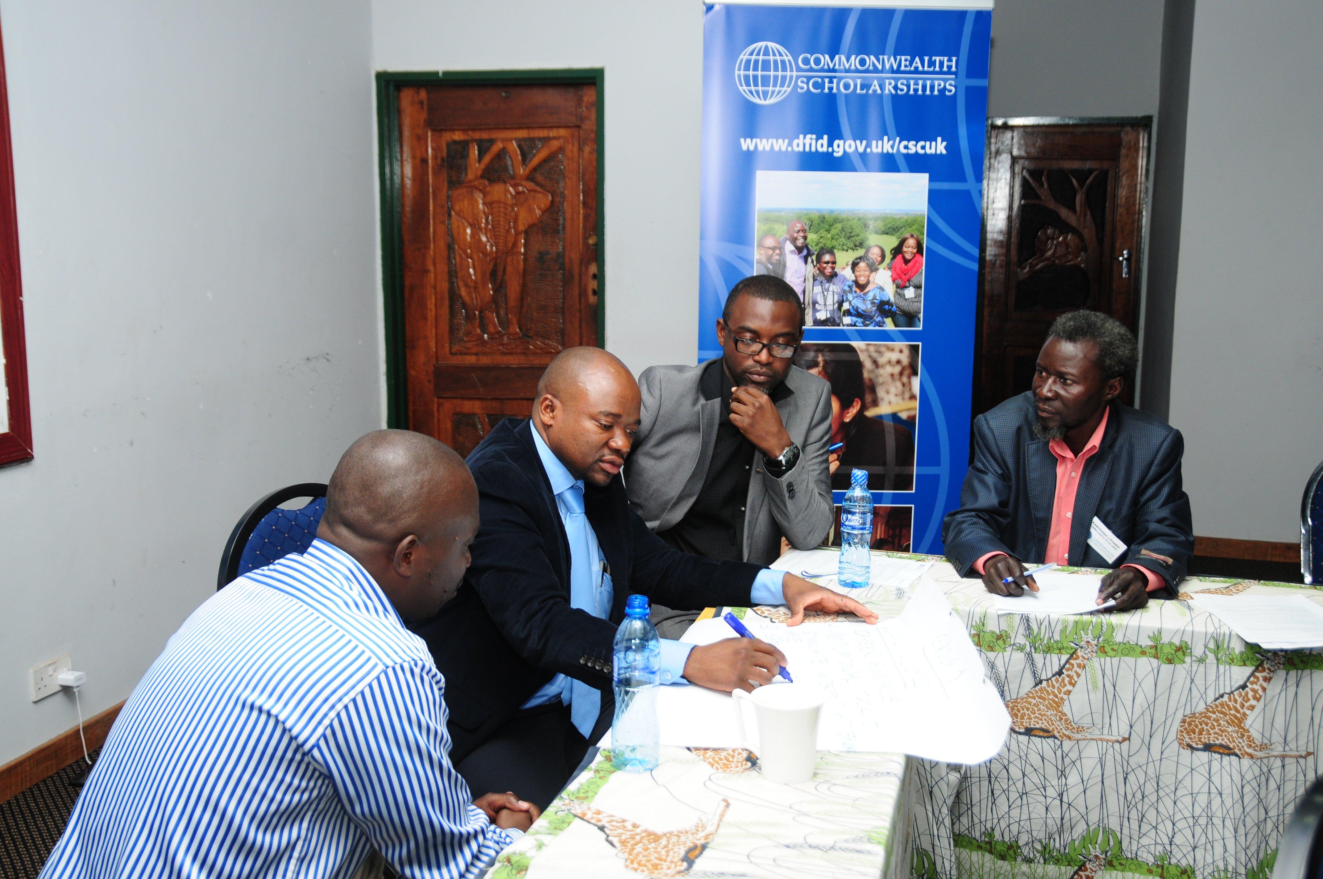 Revisiting development plans – alumni symposium