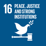 SDG 16 - Peace, Justice and strong institutions