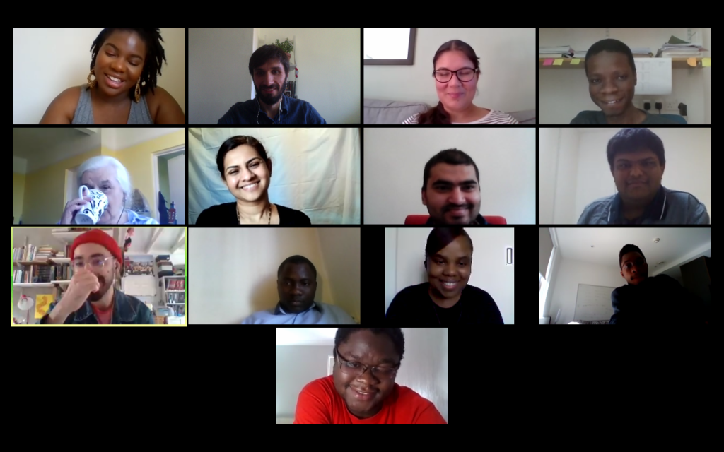 First virtual site visits with Commonwealth Scholars in Liverpool and London