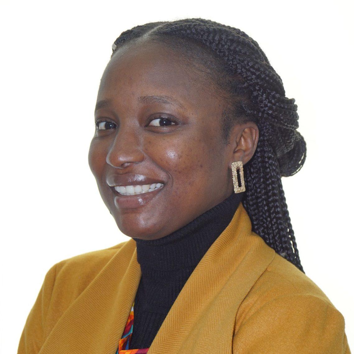 Headshot of Joy-Carew Isatu