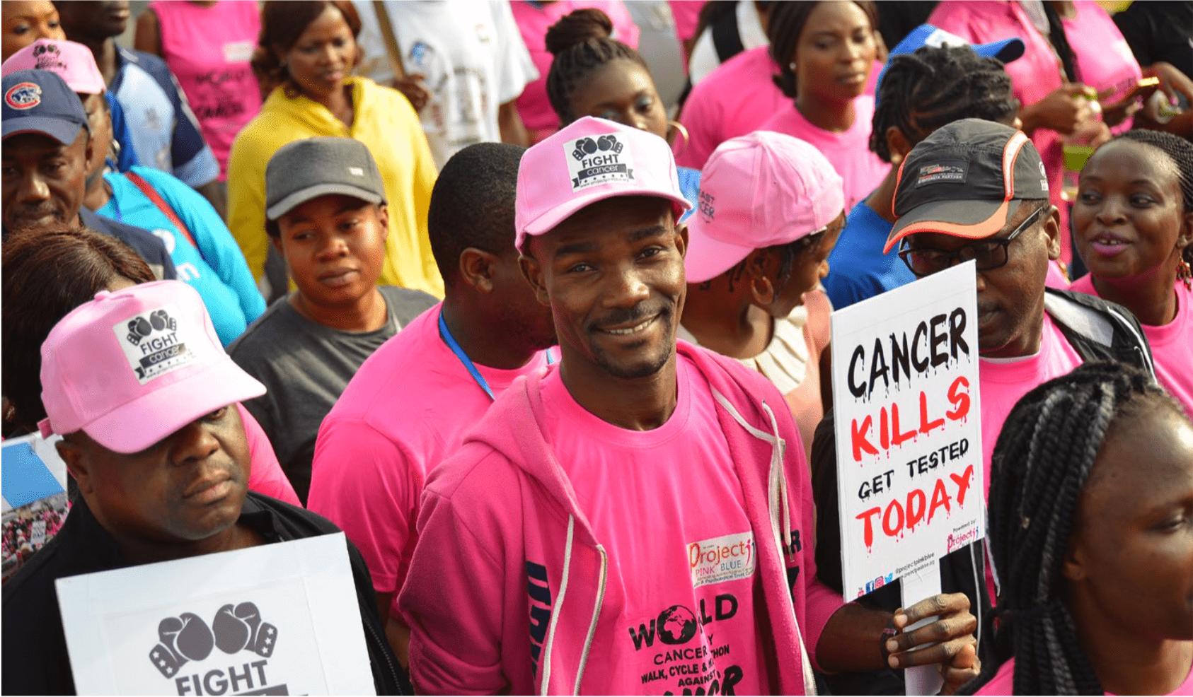 Cancer awareness campaign