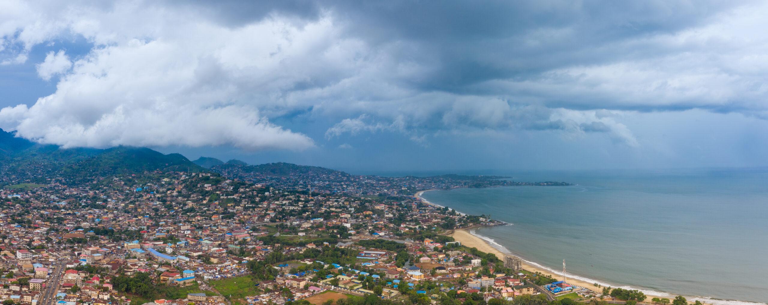 A landscape of Sierra Leone