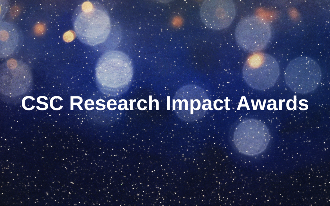 The CSC is launching the CSC Research Impact Awards to celebrate the research of Commonwealth Scholars and Alumni