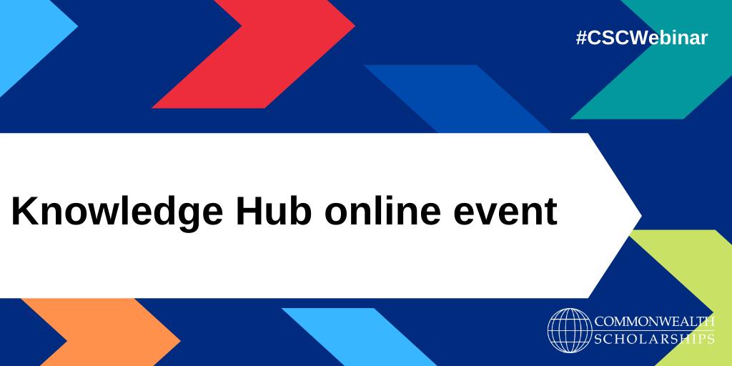 Knowledge Hub online event