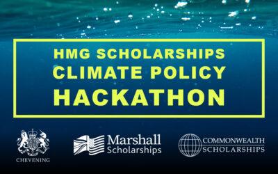 Announcing the HMG Scholarships Alumni Climate Change Hackathon presentation events